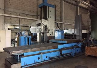 TOS WHN 135 boring machine