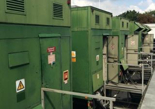 3 x 2500 kW Complete Gas Turbines Centrax CX501 KB