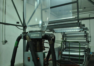 Reifenhauser 90 Mm Mdl 90-1600 Blown Film Line Rebuilt 2008