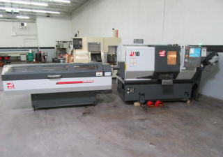 Haas St-10 Cnc Turning Center With Tailstock
