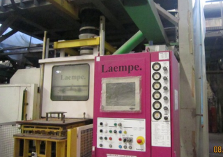 Laempe L 20-40 sand-blasting bar automatic machine