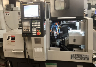 Tsugami B0206-III 6-Axis CNC Screw Machine