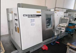 Gildemeister Ctx 420 Linear Cnc Lathe