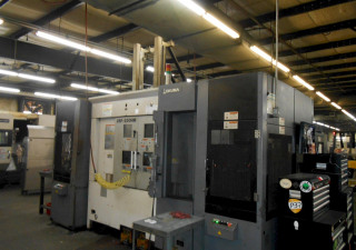 Okuma 2Sp-250Hm Twin Spindle, Twin Turret Cnc Horizontal Turning Center, With Gantry Loader, New 2012