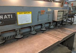 Cincinnati 1012 Auto Shear 12' x 10 Gauge