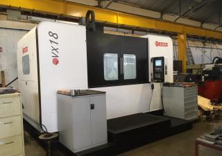 Huron VX18 machining center