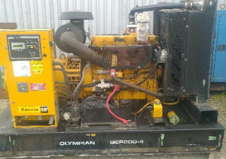 Generator sets CAT, John Deere