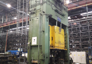 Crank press PKZZ I 500x2800, 500 ton