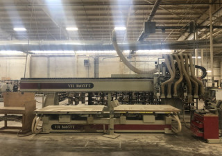 Used Komo Model Vr 1605Tt Cnc Router, 5′ X 8′ Dual Tables, New In 2001