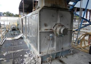 Fkc Screw Press Stainless Steel Model Shx-1200 X 8000L Mfg. 2006