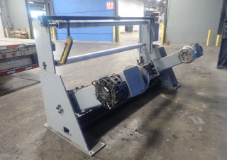 "60"" (1.52M) Whebtech Shaftless Floor Pick Up Unwind Stand 50"" Diamater Capacity"
