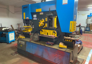 Hydraulic sheet metal shears with punching function Accurl Q35Y-30