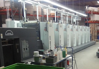 Roland R 308-P – 8 Colour Offset Press