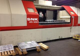 2001 Snk Hps-120B/5 Axis Cnc Vertical Milling Machine
