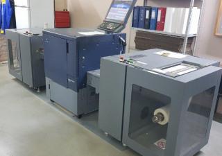 Digital roll machine Konica Minolta  C71cf, 2017