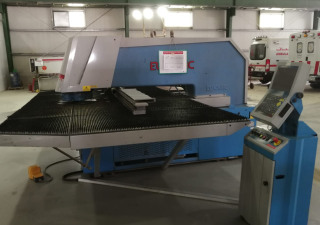Euromac MTX 1250/30 CNC Turret Punch with 5 Station Centre
