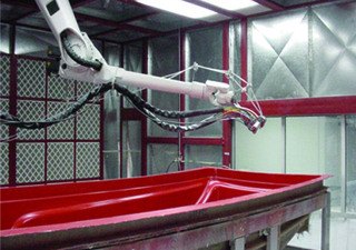 Gaiotto Robotic Fiberglass System w/ KUKA Robot