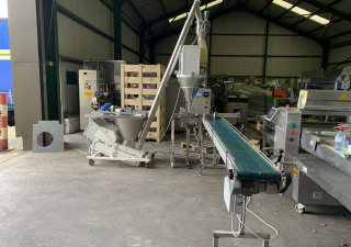 fully automatic powder filling line