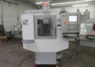 Haas Super Minimill Cnc Vertical Machining Center With Probing And High Speed Machining