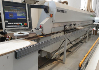 ROXYL 6.0 AUTOMATIC SINGLE-SIDED EDGE BANDING MACHINE WITH PUR GLUE