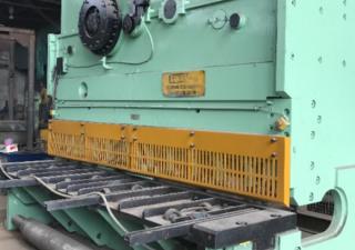 Strojaren Piesok - Czecholovakia NTH – 3160/16 hydraulic shear