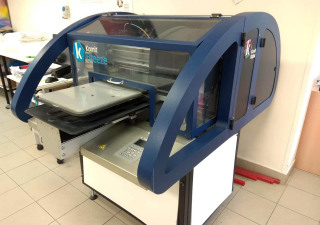 Machine for digital textile printing Kornit Breeze