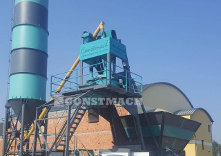 20 m3/h CAPACITY COMPACT TYPE CONCRETE PLANT,  2 YEARS WARRANTY