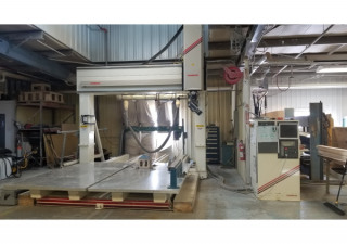 Used Thermwood 5 Axis Cnc Router, Dual 5′ X 10′ Tables, New In 2004