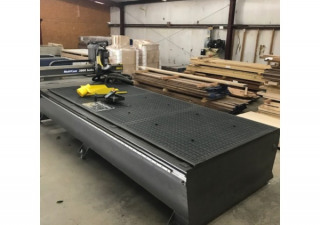 Used Multicam 3000 Series 5′ X 12′ Cnc Router, New In 2008