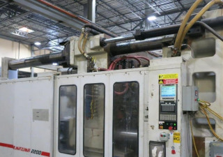 2200 Ton Cincinnati Ml2200-413 Injection Molding Machine