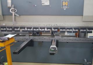 Cnc Press Brake Hydraulic Haco Typ Erm 3075