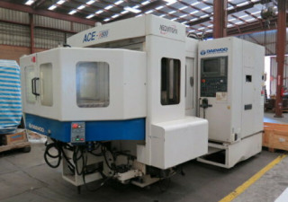 Centre d'usinage horizontal Daewoo Ace-H500 4 axes