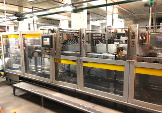 Hartness 2800 Servo Drop Case Packer