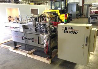 B&H Model 1600 Inline Roll Fed Labeler