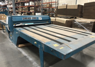"""Used Shearline 80"""" Wide Roller Die Cutter, Flatbed"""