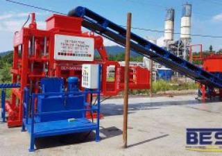 PRS 400 concrete block making machine