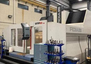 Fidia Gtf3514 Ma4500 (5) Axis High Speed Vertical Machining Center (2015/2016)