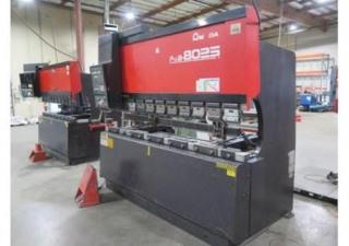 """88 TON X 98.6"""" AMADA FBD8025 NC9EXII 3-AXIS CNC,"""