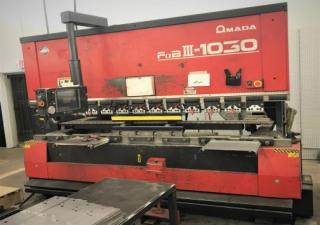 "110 TON X 122"" AMADA FBDIII 1030NT CNC PRESS BRAKE,7-AXIS"