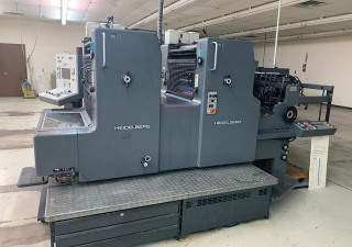 HEIDELBERG MOZP-S 2 COLOR 1994