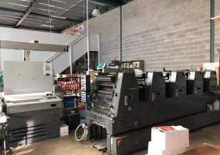 Heidelberg GTO 52 FP - 5 color Year : 1994
