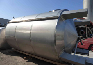 20.000 liter Storage tanks/ stainless steel tanks without pressure