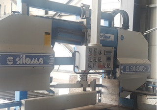 Double Column Bandsawing Machine Siloma Ol 500/800 Dgh