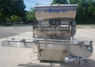 Simplex Four Head Automatic Piston Filler
