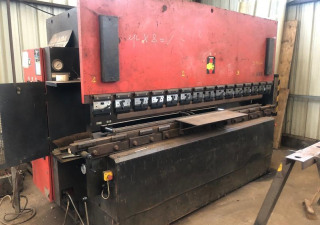AMADA PROMECAM ITS press brake of 3m by 125 tons + AMADA PROMECAM GPS630 shear of 3m by 6mm