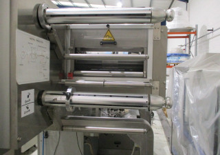 Used Flow Wrapper, Die Cutting And Labelling Station