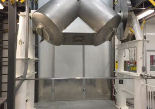 75 Cu. Ft. Patterson Kelley Stainless Steel Twin Shell Blender