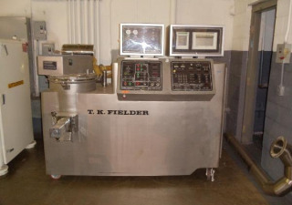 65 Liter T.K. Fielder Mdl Spectrum 65 Stainless Steel High Shear Granulating Microwave Dryer