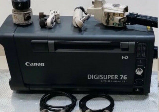 Canon XJ76x9B HD Box Lens Complete with Full Servo Remotes, Support and Case