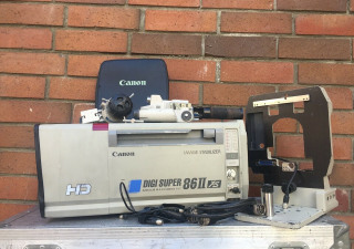 Canon XJ86x9.3B MKII HD Box Lens Complete with Remotes, Support and Case